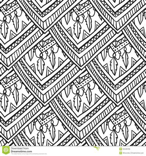 ethno muster ethno romb muster stock abbildung bild 50448785