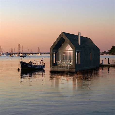 coolest cabins floating cabin
