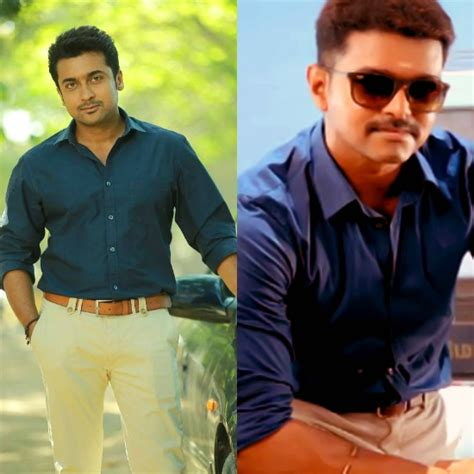 vijay or suriya who is top tamil cinema news vijay suriya 5 vijay and suriya s friendly