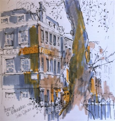 barnabas house house of st barnabas drawing london