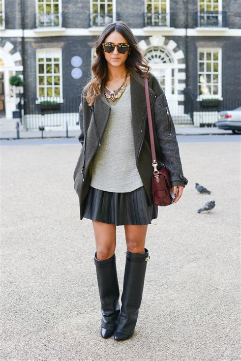wear your leather pieces two ways givenchy boots and