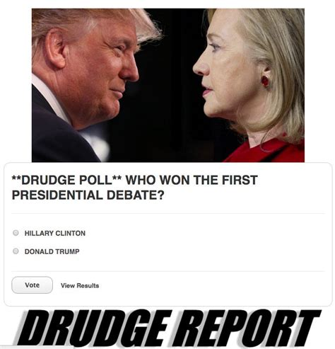 Dru Drudge Report by Count Thecount Thecountnews