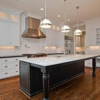 kitchen islands with legs black kitchen island with black marble countertops
