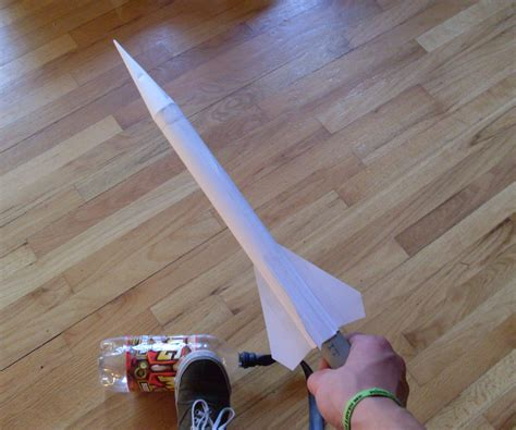 How To Make A Simple Paper Rocket - diy stomp rockets