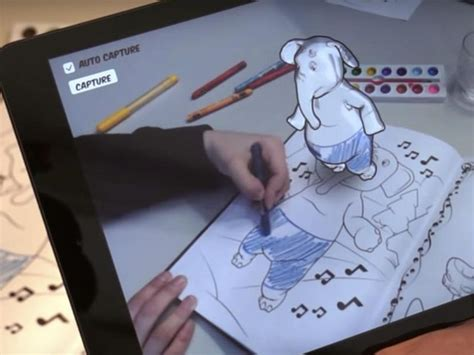 app that makes coloring pages come to life thanks to augmented reality these coloring books come to