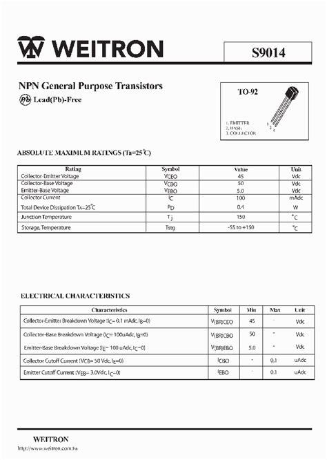 datasheet of transistor sl100 sl100 transistor datasheet pdf all stuff