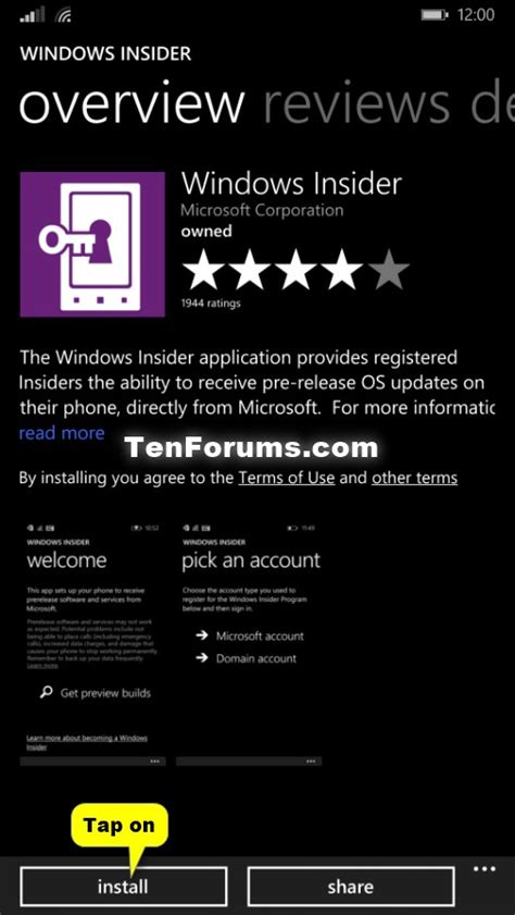 windows 10 insider tutorial windows 10 mobile insider preview for phones update to