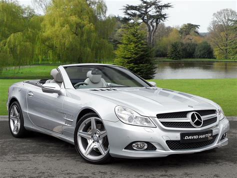 car mercedes 2010 used 2010 mercedes sl sl 500 for sale in cumbria