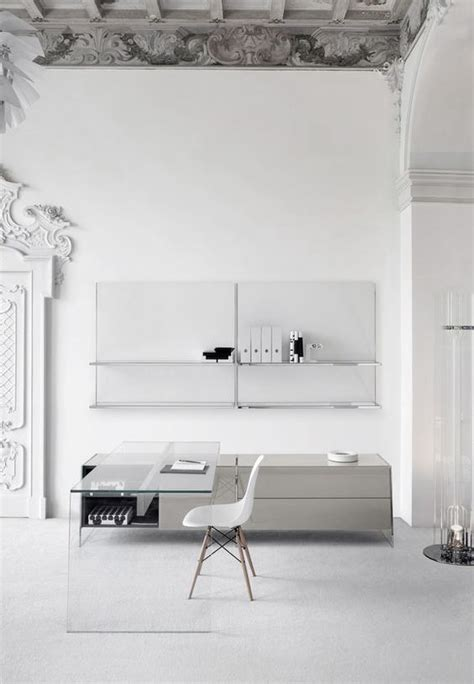 modern glass desks for home office 29 edgy glass desks for modern home offices interior designs