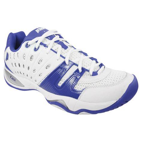 prince t22 s team tennis shoes white royal blue ebay