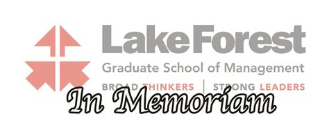 Forest Mba Us News by Remembering Joan Bailar Former Lake Forest Board Chair