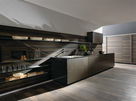 valcucine kitchen linear steel fitted kitchen riciclantica inox touch by