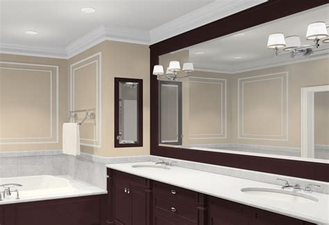 brown bathroom mirror brown framed bathroom mirrors house decor ideas