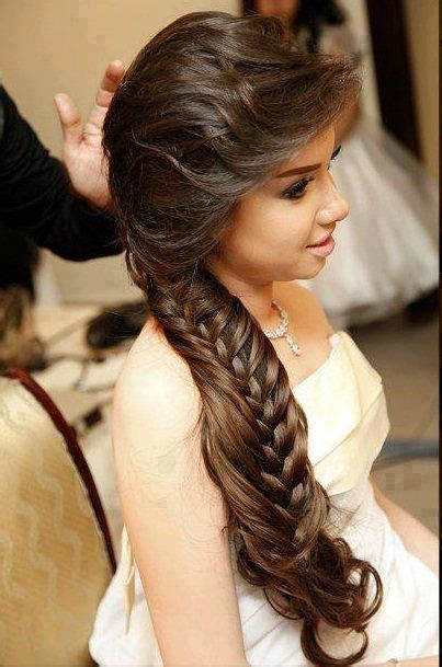 loose hair styles for long hairs for pakistani wedding bridal hairstyles pakistani and indian bridal hairstyles