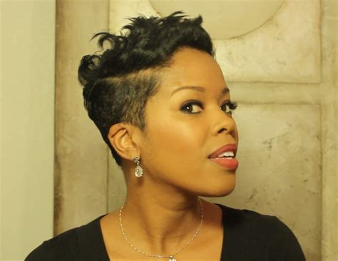 pixie haircuts for natural ethnic hair short hair don t care the flyest celebrity pixie cuts