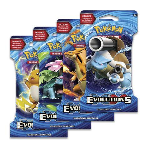 pokemon tcg xy evolutions booster toys caseys toys