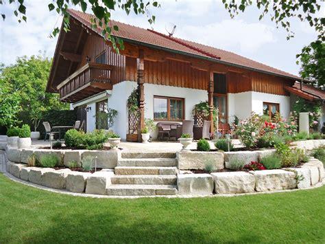 Gartengestaltung Mit Mauern by Treppen Und Wege Bruckmeier Garten Und Landschaftsbau