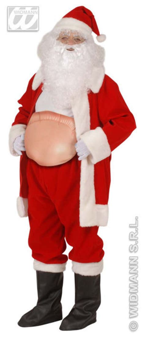 inflatable santa belly  accessories  xmas christmas  widmann inflatable