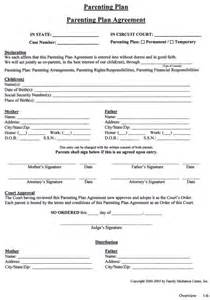 co parenting agreement template co parenting plan template 28 images parenting plan