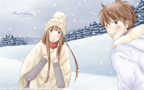 theme windows 7 kimi ni todoke kuronuma sawako снег шота казехая дотянуться до тебя