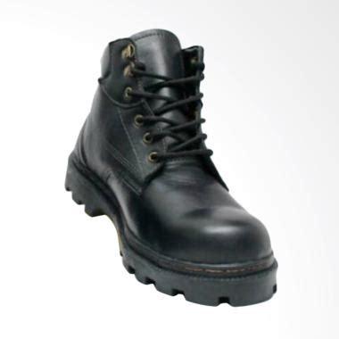 Sepatu Boot Hitam jual handmade safety hiking touring sepatu boot hitam harga kualitas terjamin