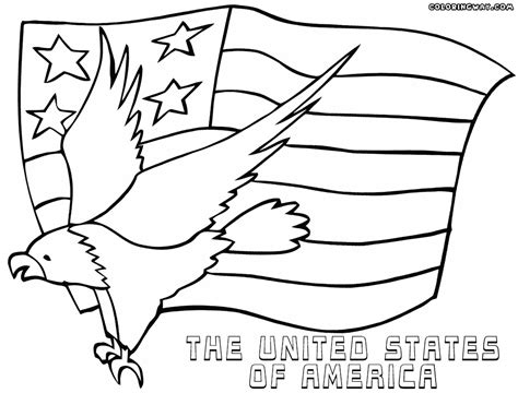 coloring pages american american flag coloring pages coloring pages to