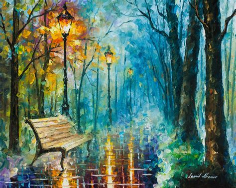 paint inspiration night of inspiration palette knife oil painting on