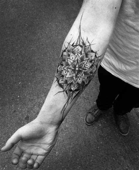 best forearm tattoos sketch mandala forearm best design ideas
