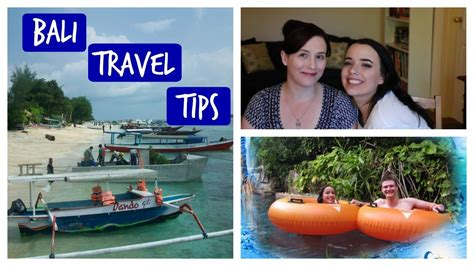 travel tips  bali indonesia youtube