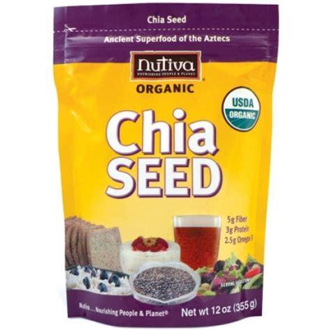 Chia Seed 500 Gram Sumber Omega 3 Wajib Bagi Vegetarian nutiva organic chia seed 有機奇異籽