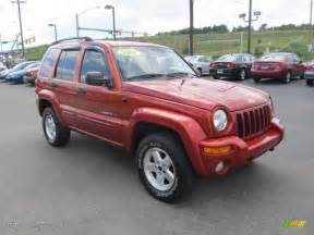 Jeep Liberty 4x4 Salsa Pearlcoat 2002 Jeep Liberty Limited 4x4 Exterior