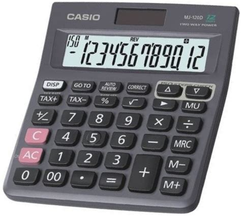 Casio Kalkulator Jj 120d Plus casio mj 120d calculator price in pakistan casio in