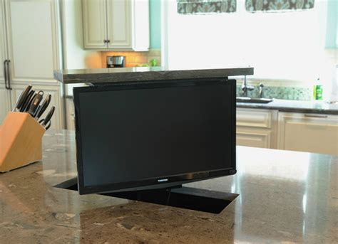 tv in kitchen ideas tv in kitchen island tv room ideas 9 smart