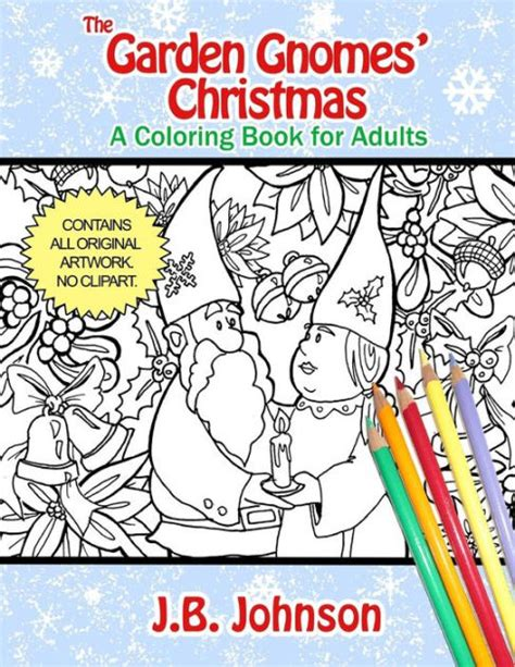 coloring books for adults barnes and noble the garden gnomes a coloring book for adults