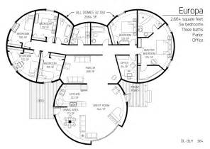 Monolithic Dome Homes Floor Plans Floor Plan Dl 3211 Monolithic Dome Institute