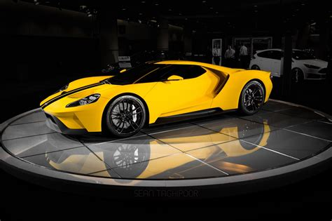 gt gt photo of the day first yellow 2017 ford gt gtspirit