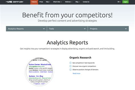 competitor analysis sle report increase sales competitor analysis with semrush the ogm