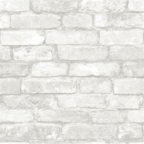 white brick removable wallpaper contemporary wallpaper gray and white brick peel and stick wallpaper