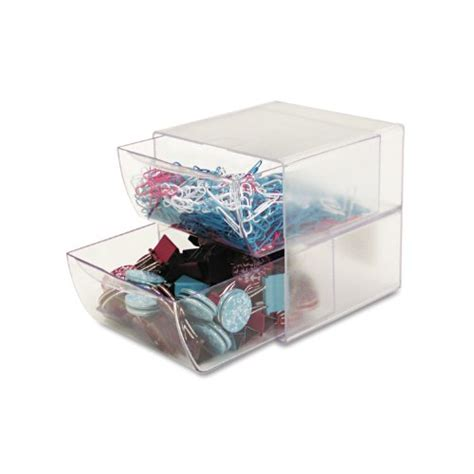 Clear Drawer Organizer by Nett Store Plastic Drawers Deflect O 350101 Two Drawer