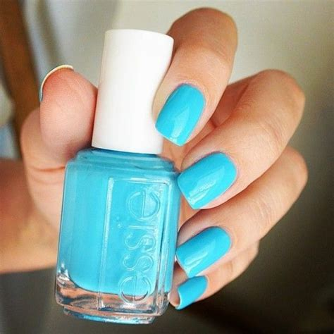 essie light blue nail best 25 neon blue nails ideas on nails