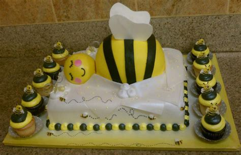bumble bee cakes for baby shower bumble bee baby shower cake