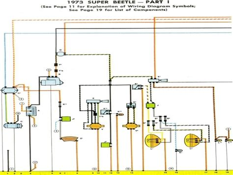 1973 vw beetle fuse box diagram wiring forums
