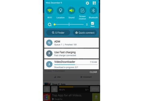android notification bar how to on an android device