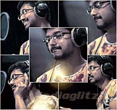 anirudh album song vijay praise anirudh for kaththi songs vijay fans club