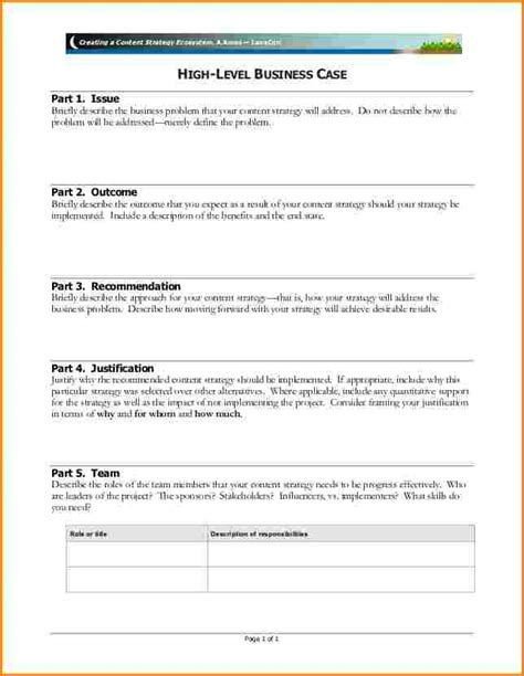 Business Justification Template 6 business justification template worker resume
