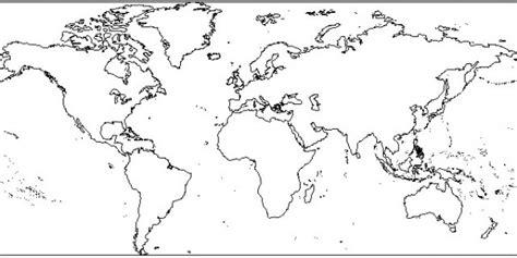 imagenes de un planisferio en blanco y negro 60 mapas de paises y continentes para colorear con nombres