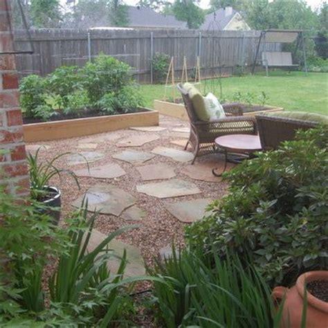 crushed granite look for patio concrete patio ideas