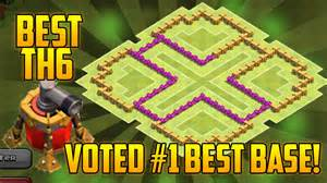 Coc best th6 farming base air sweeper clash of clans town hall 6