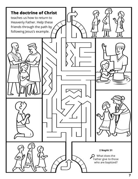 coloring pages christian missionaries doctrine of christ