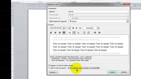 plantilla en word con normas apa actualizadas plantilla de word con las normas apa upel youtube